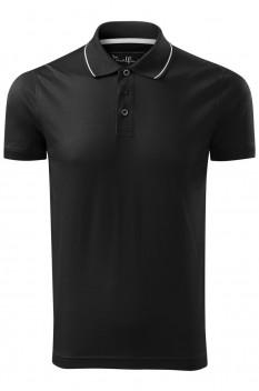 Tricou polo pentru barbati Malfini Premium Grand, negru