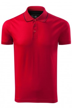 Tricou polo pentru barbati Malfini Premium Grand, formula red