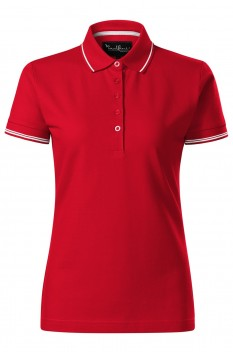 Tricou polo femei Malfini Premium Perfection Plain, rosu
