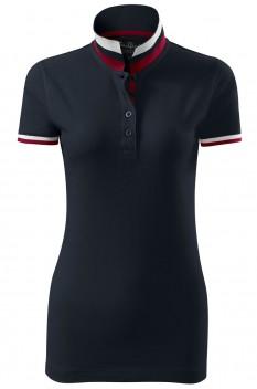 Tricou polo pentru femei Malfini Premium Collar Up, dark navy