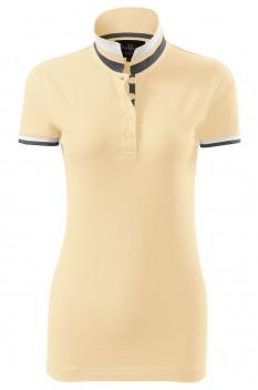 Tricou polo pentru femei Malfini Premium Collar Up, bourbon vanilla