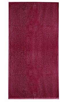 Prosop mare de baie, bumbac 100%, Malfini Terry rosu marlboro 70 x 140 cm