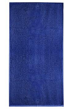 Prosop mare de baie, bumbac 100%, Malfini Terry albastru regal 70 x 140 cm