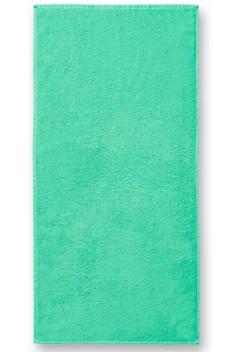 Prosop mare de baie, bumbac 100%, Malfini Terry verde menta 70 x 140 cm