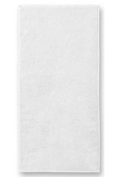 Prosop mare de baie, bumbac 100%, Malfini Terry alb 70 x 140 cm