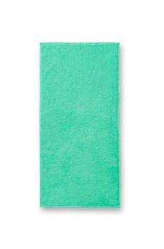 Prosop mediu de baie, bumbac 100%, Malfini Terry verde menta 50 x 100 cm