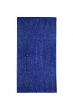 Prosop mediu de baie, bumbac 100%, Malfini Terry albastru regal 50 x 100 cm