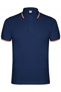 Tricou polo barbati, Roly Nation, bleumarin