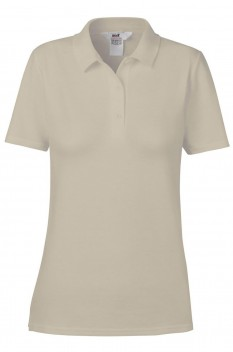 Tricou polo femei, bumbac 100%, Anvil Double Pique, Cobblestone