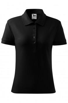 Tricou polo pentru femei Malfini Cotton Heavy, negru