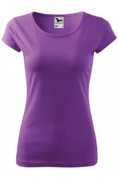 Tricou femei, bumbac 100%, Malfini Pure, violet