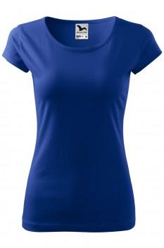 Tricou femei, bumbac 100%, Malfini Pure, albastru regal