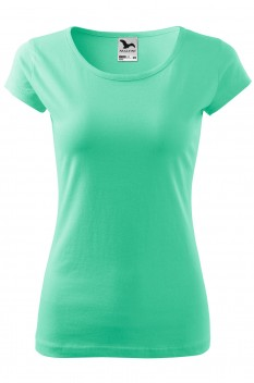 Tricou femei, bumbac 100%, Malfini Pure, verde menta