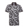 Tricou polo barbati, bumbac 100%, Asquith & Fox AQ018, camo grey