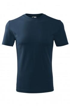 Tricou barbati, bumbac 100%, Malfini Classic New, albastru marin