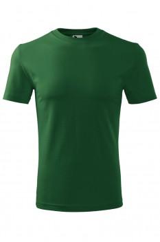Tricou barbati, bumbac 100%, Malfini Classic New, verde sticla