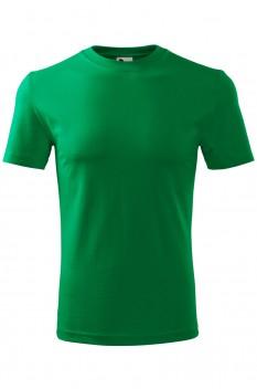 Tricou barbati, bumbac 100%, Malfini Classic New, verde mediu