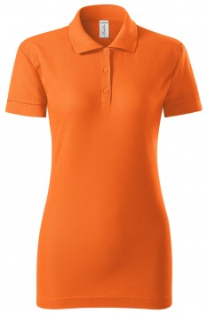 Tricou polo femei Piccolio Joy, portocaliu