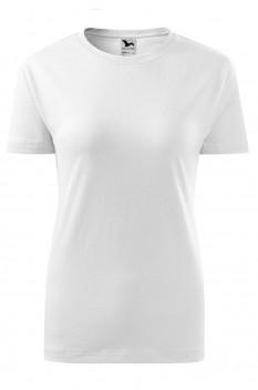 Tricou femei, bumbac 100%, Malfini Classic New, alb