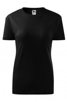 Tricou femei, bumbac 100%, Malfini Classic New, negru