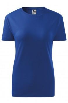 Tricou femei, bumbac 100%, Malfini Classic New, albastru regal