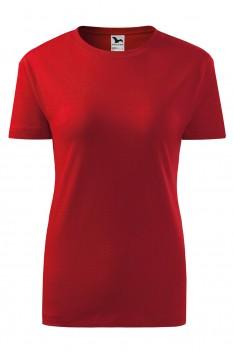 Tricou femei, bumbac 100%, Malfini Classic New, rosu