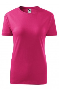 Tricou femei, bumbac 100%, Malfini Classic New, purpuriu