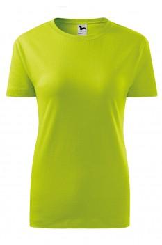 Tricou femei, bumbac 100%, Malfini Classic New, lime