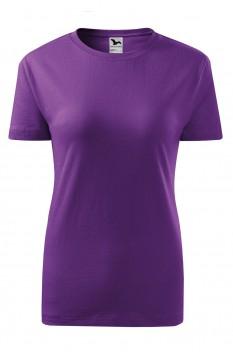 Tricou femei, bumbac 100%, Malfini Classic New, violet
