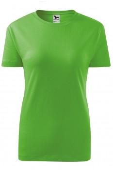 Tricou femei, bumbac 100%, Malfini Classic New, verde mar