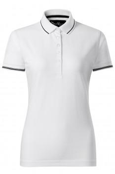 Tricou polo pentru femei Malfini Premium Perfection Plain, alb