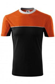 Tricou unisex, bumbac 100%, Malfini Colormix, portocaliu
