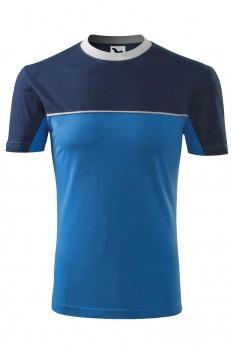 Tricou unisex, bumbac 100%, Malfini Colormix, albastru azuriu