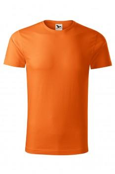 Tricou barbati, bumbac organic 100%, Malfini Origin, portocaliu