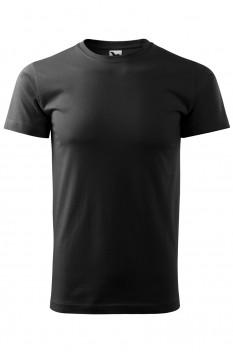 Tricou barbati, bumbac 100%, Malfini Basic, negru