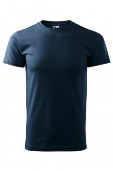 Tricou barbati, bumbac 100%, Malfini Basic, albastru marin