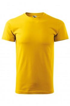 Tricou barbati, bumbac 100%, Malfini Basic, galben