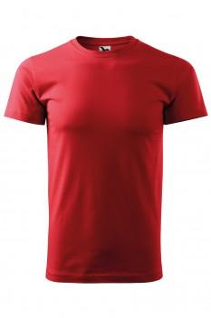 Tricou barbati, bumbac 100%, Malfini Basic, rosu