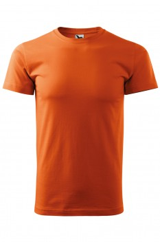 Tricou barbati, bumbac 100%, Malfini Basic, portocaliu