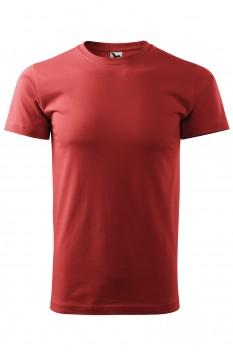 Tricou barbati, bumbac 100%, Malfini Basic, rosu bordo
