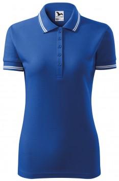 Tricou polo pentru femei Malfini Urban, albastru regal
