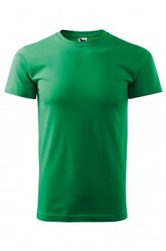 Tricou barbati, bumbac 100%, Malfini Basic, verde mediu