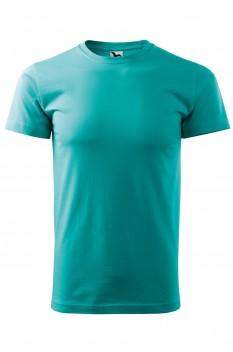 Tricou barbati, bumbac 100%, Malfini Basic, verde smarald