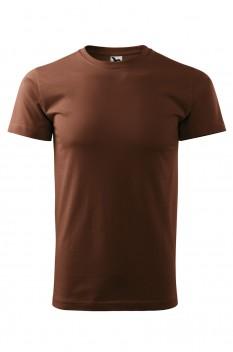 Tricou barbati, bumbac 100%, Malfini Basic, ciocolatiu
