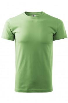Tricou barbati, bumbac 100%, Malfini Basic, verde iarba