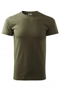Tricou barbati, bumbac 100%, Malfini Basic, military