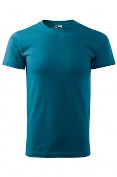 Tricou barbati, bumbac 100%, Malfini Basic, albastru petrol