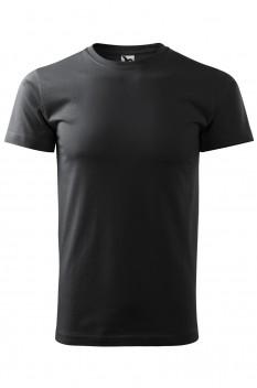 Tricou barbati, bumbac 100%, Malfini Basic, ebony gray