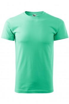 Tricou barbati, bumbac 100%, Malfini Basic, verde menta