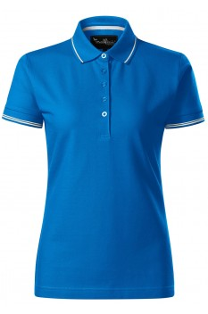 Tricou polo femei Malfini Premium Perfection Plain, snorkel blue